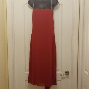 Lovely red cocktail dress